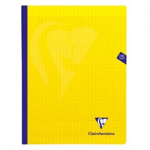Cahier polypro 24x32cm jaune 192p séyès