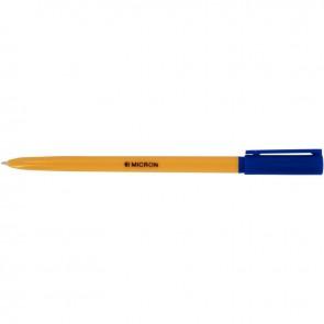 Stylo bille Micron pointe fine 0,7mm bleu