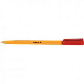 Stylo bille Micron pointe fine 0,7mm rouge
