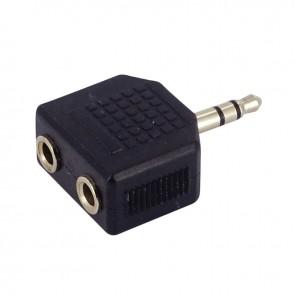 Double adaptateur audio jack 3,5mm
