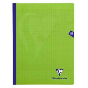 Cahier polypro 24x32cm vert 192p séyès