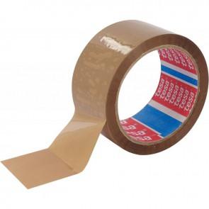 Rouleau adhésif d'emballage économique havane 66m x 50mm