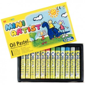 Boîte de 12 craies pastels à l'huile Mini Artist
