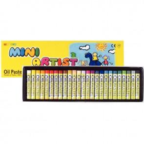 Boîte de 25 craies pastels à l'huile Mini Artist