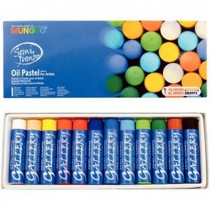 Boîte de 12 craies pastels à l'huile Jumbo
