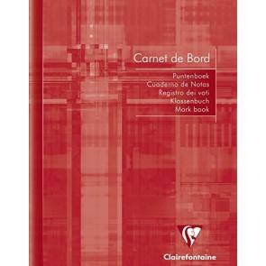 Carnet de bord souple 64 pages 14,8 x 21cm