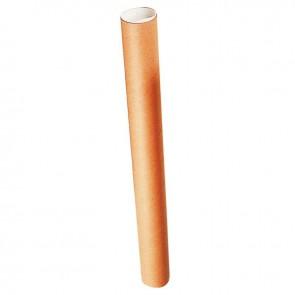 Tube d'expédition en carton rond longueur total 380mm diamètre 40mm + 2 bouchons