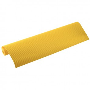 Rouleau de carton ondulé 50x70cm citron