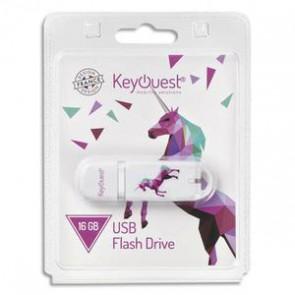 KeyOuest Clé USB 2.0 16 Go ORIGAMI Licorne KO011379 +redevance
