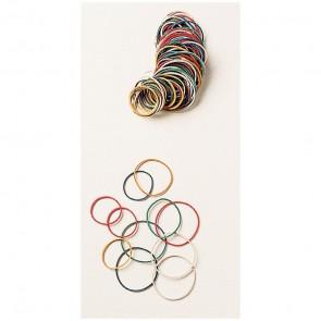 Sachet de 20 g de bracelets en caoutchouc