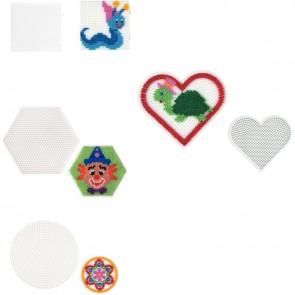 Sachet de 4 plaques pour perles Hama taille mini