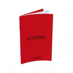 Carnet  piqué format 9 x 14 petits carreaux 5x5 couverture plastique marque OXFORD Hamelin