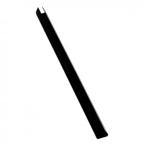 Boîte de 25 baguettes à relier, longueur 29,7 cm, épaisseur 9 mm.  noir