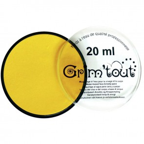 Galet de 20 ml de maquillage aquarellable GRIM'TOUT jaune soleil