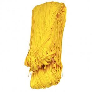 Pelote de 50 g de raphia végétal jaune