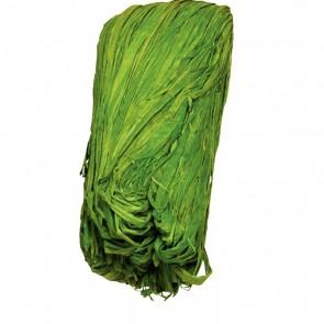 Pelote de 50 g de raphia végétal vert