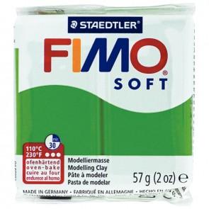 Bloc de pâte à modeler Fimo soft 57 grammes vert tropique