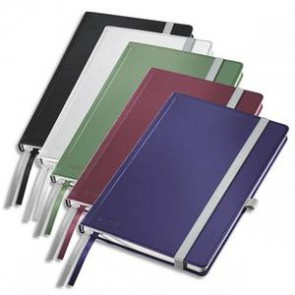 Cahier STYLE brochure rigide A5 160 pages 80g A5 ligné. Couverture rigide assortis (Default)
