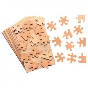 Lot de 10 puzzles en bois de 28 pièces 12 x 19 cm