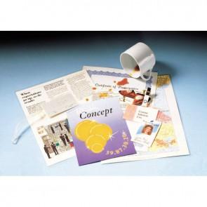 Boite de 100 pochettes à plastifier format 30,3x42,6 cm pour document 29,7x42cm. En polyester brillant épaisseur 75 microns par face