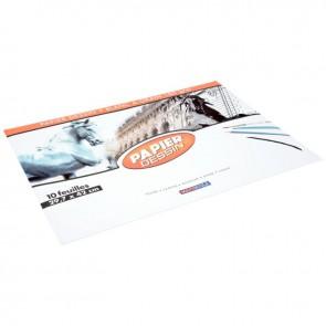 Pochette de 10 feuilles de papier dessin format 29,7x42 cm 180g EXCELLENCE