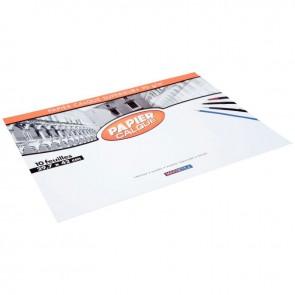 Pochette de 10 feuilles papier calque uni, 90 g 29,7x42 cm