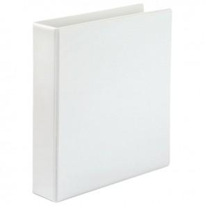 Classeur personnalisable format A4+ 4 anneaux diamètre 40 mm coloris blanc