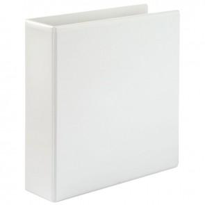 Classeur personnalisable format A4+ 4 anneaux diamètre 50 mm coloris blanc