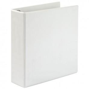 Classeur personnalisable format A4+ 4 anneaux diamètre 60 mm coloris blanc
