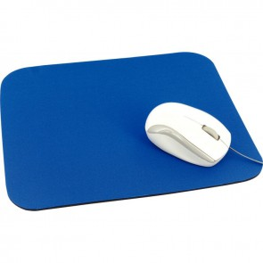 Tapis de souris en tissu bleu