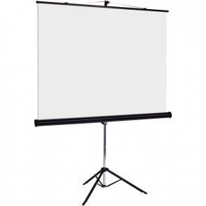 Ecran de projection sur trépied 150x150cm