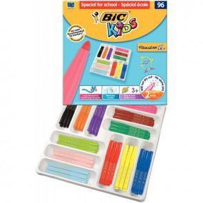 Boîte Classpack de 96 Visacolor XL couleurs assorties