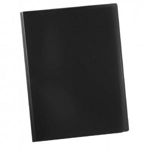 Protège documents couverture souple en polypropylène 80 vues noir