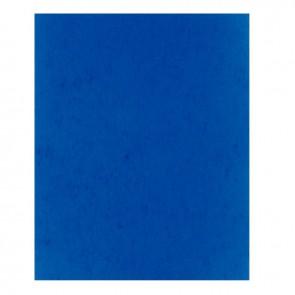 Protège-cahier 2 grands rabats format 18 x 22 cm carte lustrée coloris bleu