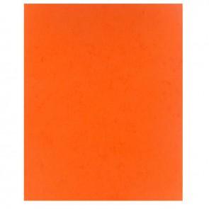 Protège-cahier 2 grands rabats  format 18 x 22 cm carte lustrée coloris orange
