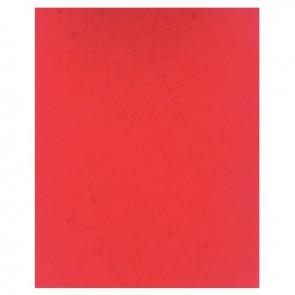 Protège-cahier 2 grands rabats  format 18 x 22 cm carte lustrée coloris rouge