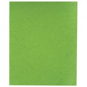 Protège-cahier 2 grands rabats  format 18 x 22 cm carte lustrée coloris vert