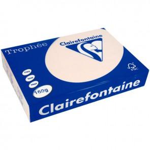 Paquet de 250 feuilles de papier 160g de format A3 saumon TROPHEE CLAIREFONTAINE