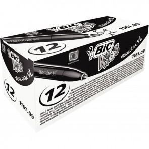 Boîte de 12 feutres Visacolor 1161 noir