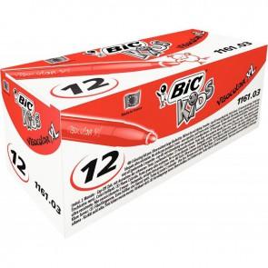 Boîte de 12 feutres Visacolor 1161 rouge