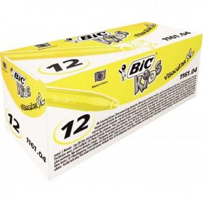 Boîte de 12 feutres Visacolor 1161 jaune