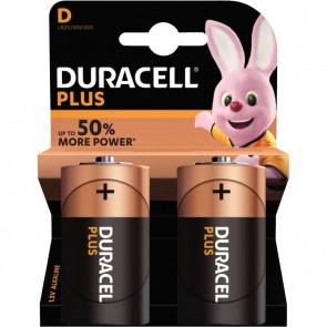 Blister de 2 piles 1.5 volts alcaline Ultra PLUS LR20/MN1300 E95 D à la marque DURACELL