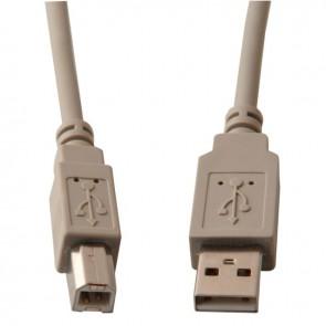 Cordon USB 2.0 AB 2 mètres