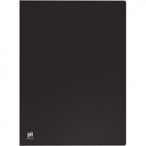 Protège-documents MEMPHIS en polypropylène, 40 vues, pour format A3, noir