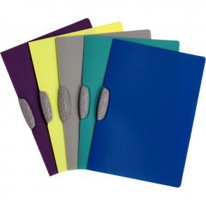 Chemise à pince Swingclip color en polypropylène translucide, format A4 : 21x29,7 cm.  Assorti