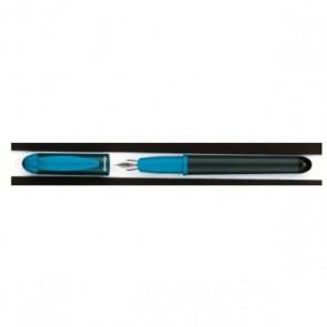 Mon 1 er stylo plume de Reynolds, taille 15 cm, le stylo de marque à prix discount ! Cartouche standard DIN Mini plume couleur fun de Reynolds  Se recharge avec toute cartouche courte standard.