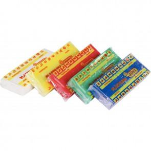 Boîte de 15 pains de 150 grammes de pâte à modeler Plastilina couleurs primaires assorties