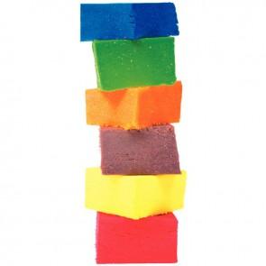 Boîte de 12 pains de 250 grammes de pâte à jouer couleurs vives assorties