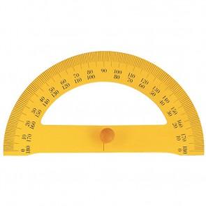 Rapporteur à tableau en bois aimanté, 180° Dimensions : 35cm