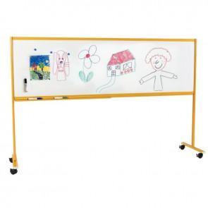 Tableau enfant sur pied 60x200 jaune